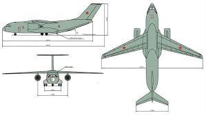 Чертеж Ил-276