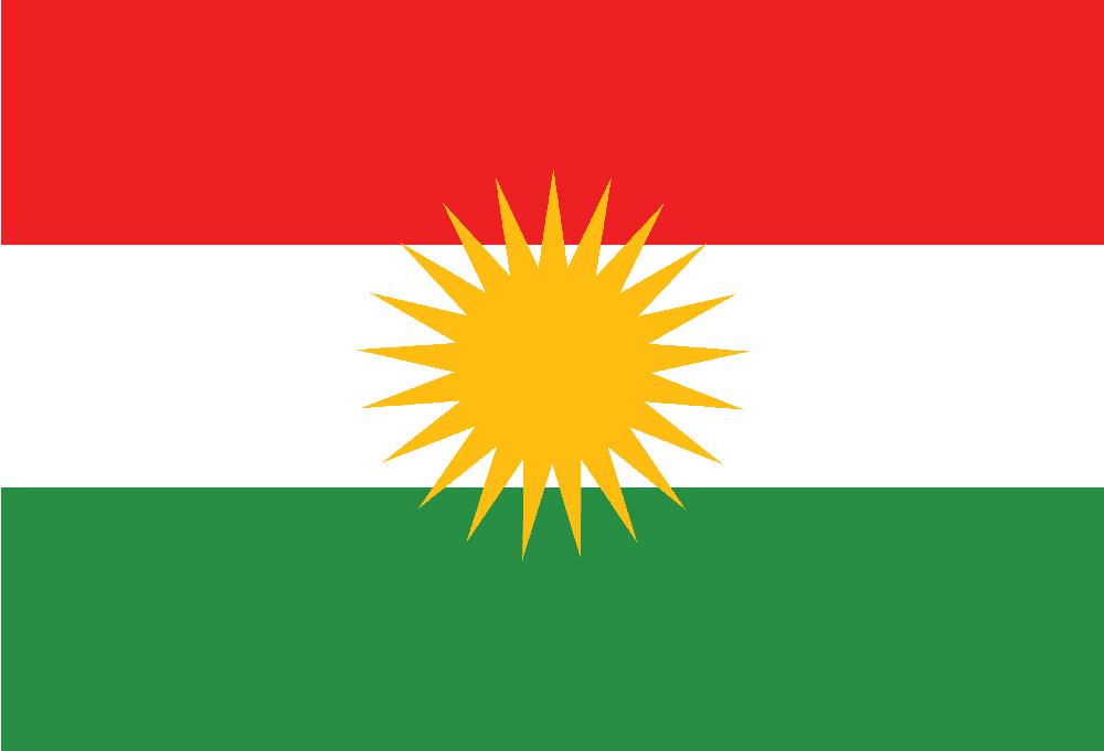 Флаг курдов