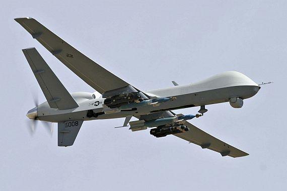 MQ-9 Reaper в полете