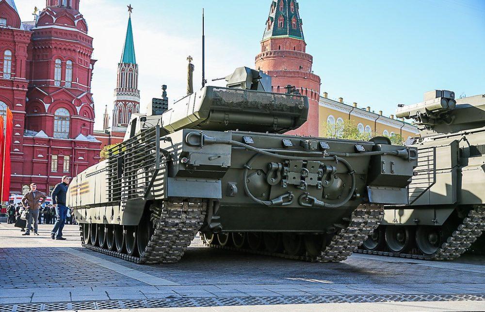 Т-14 на Красной площади