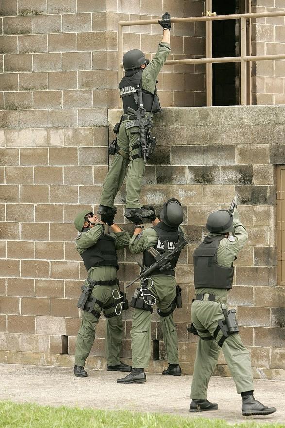 Тренировка SWAT