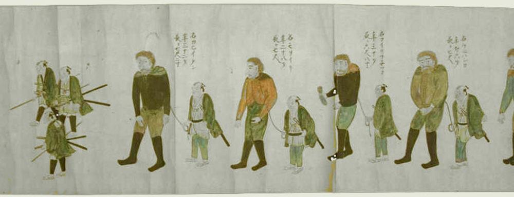В плену у японцев