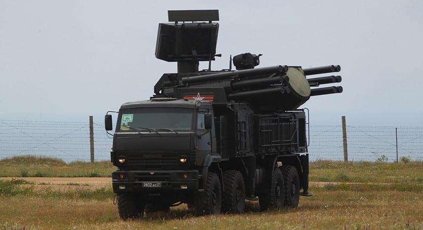ЗРК «Панцирь-С1»
