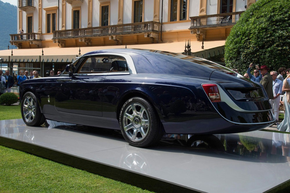 Sweptail by Rolls Royce, вид сбоку