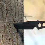 Воткнувшийся нож