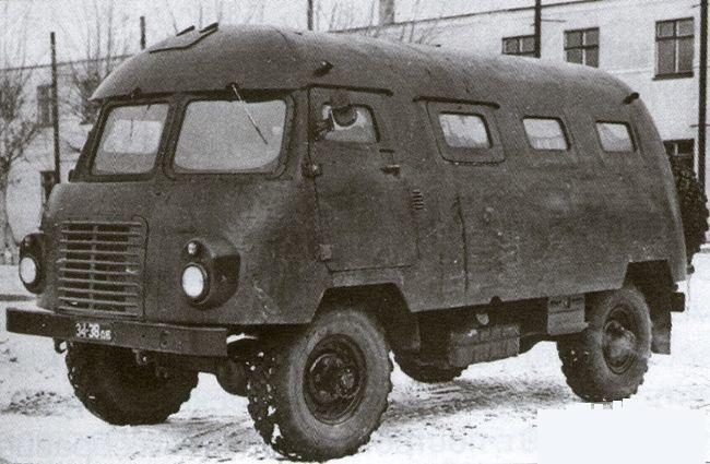Автобус для ядерной войны
