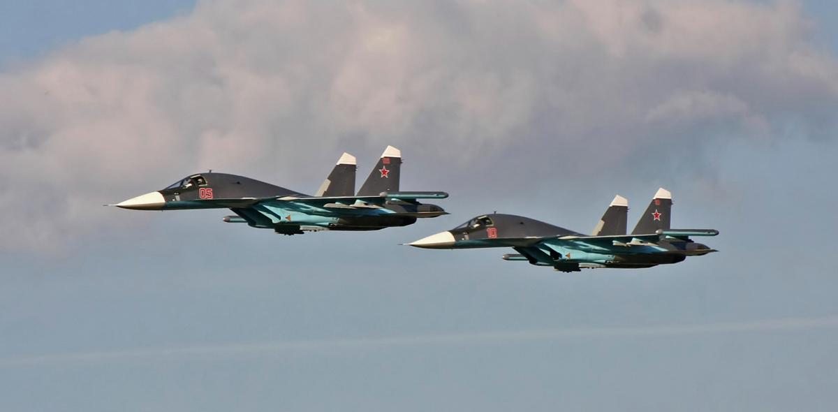 Два Су-34