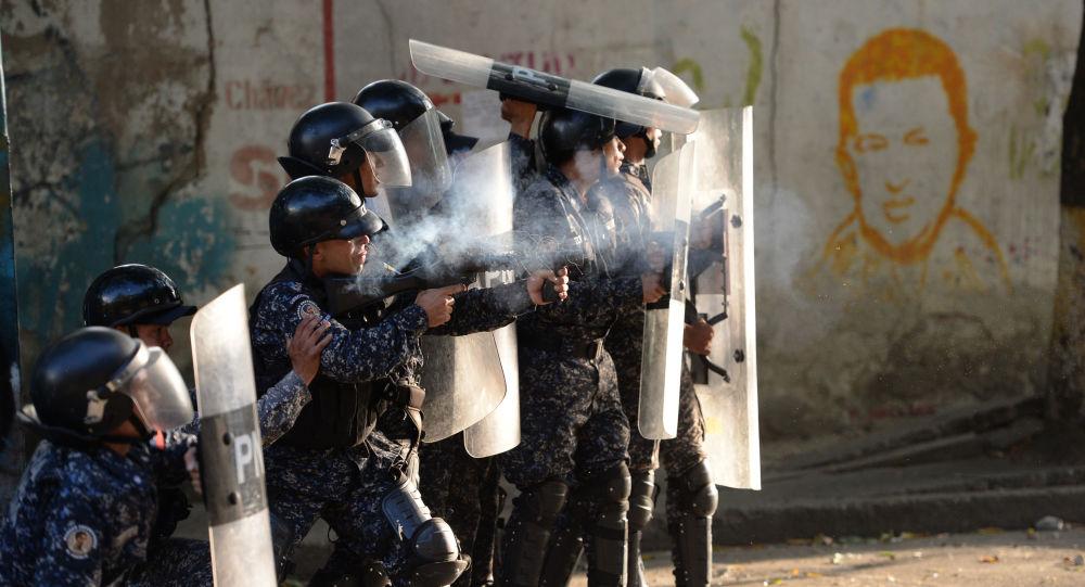 Мятеж в Венесуэле