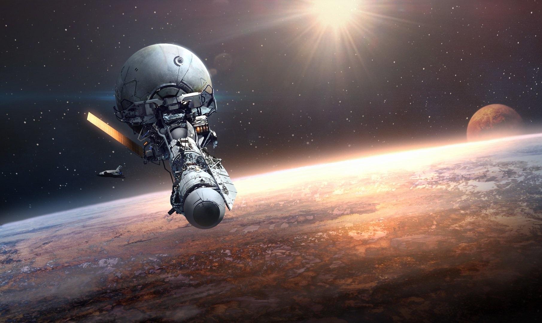 Орбитальный спутник
