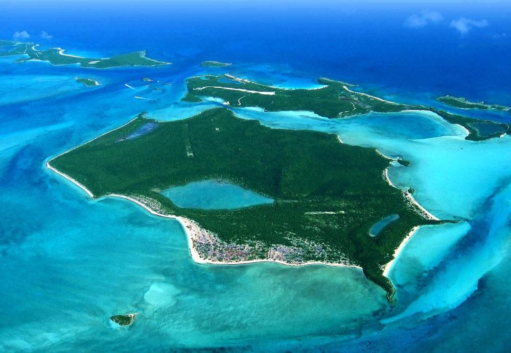 Остров Big Darby, Багамы