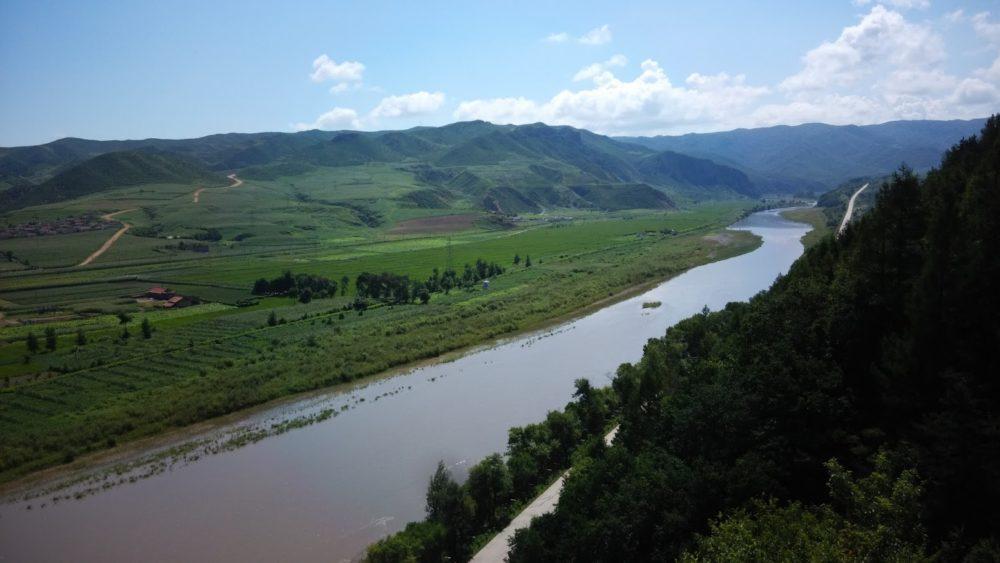 Панорама реки Тюмень