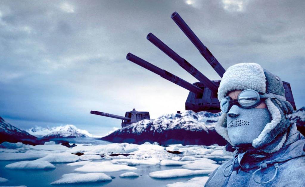 Пушки в Арктике
