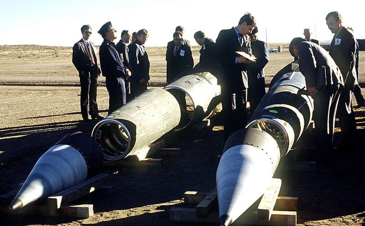 Разобранные ракеты
