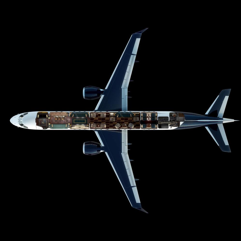 Схема самолета Manhattan Airship