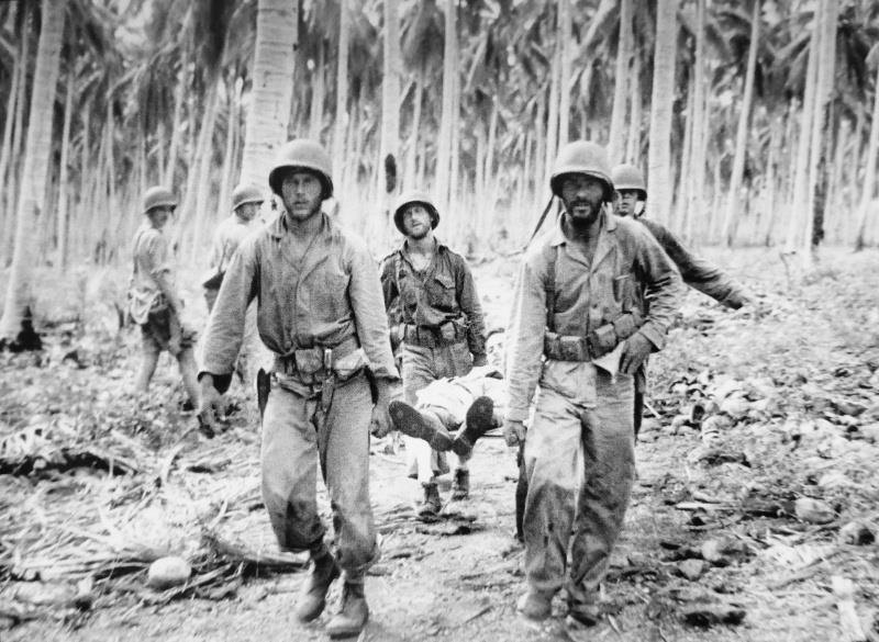 Американцы на Гуадалканале