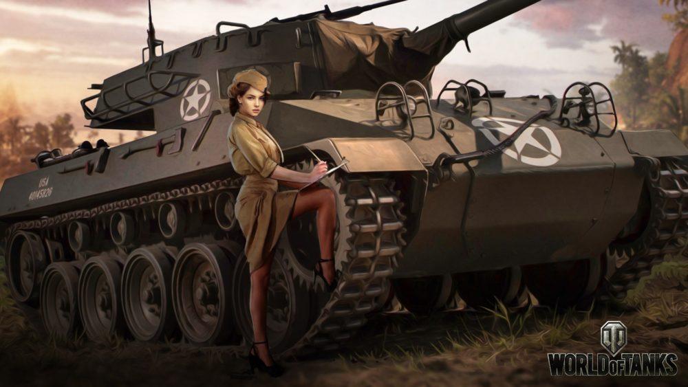 Девушки и военная техника