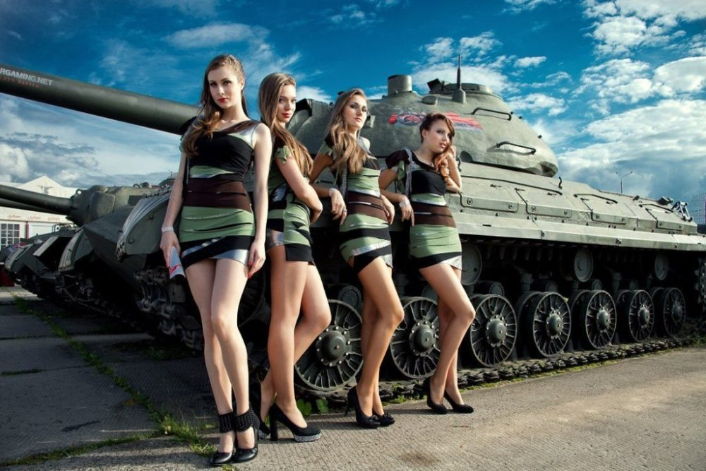 Идут ли танку девушки