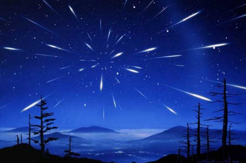 Красота метеоритного дождя