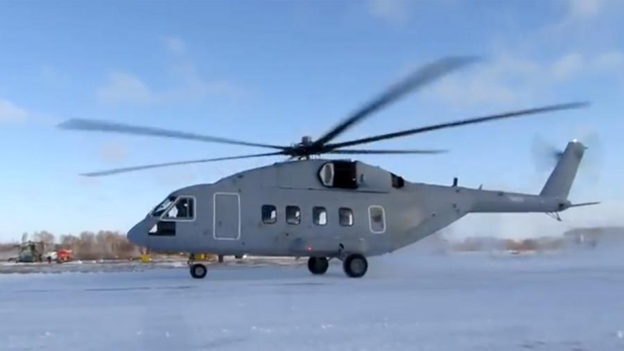 В российские войска поступит вертолет полностью отечественного производства