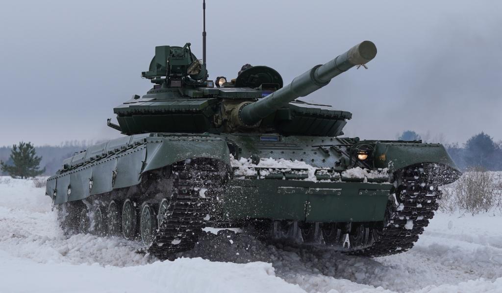 Обновленный Т-64