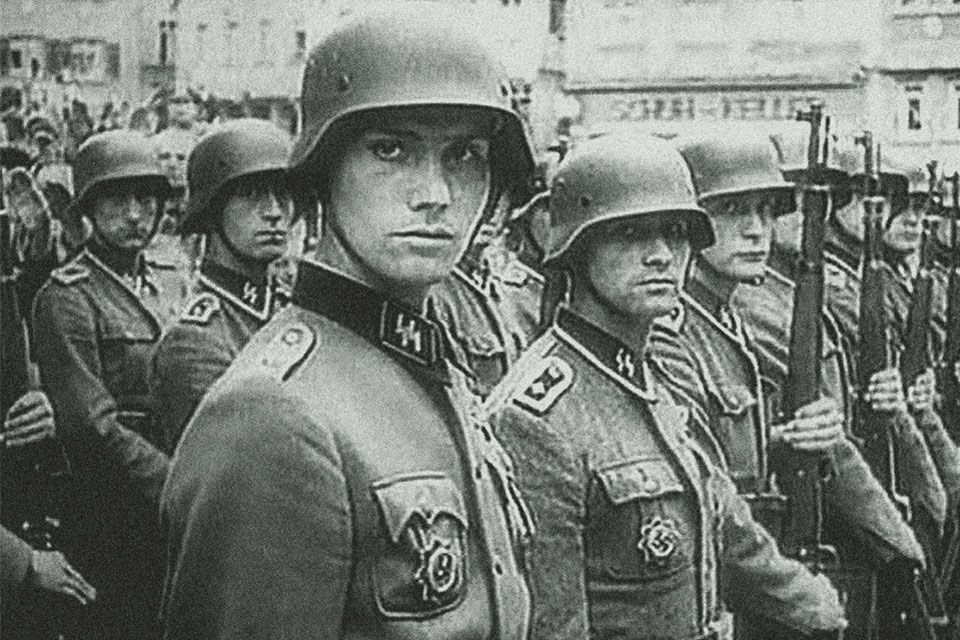 Пехотинцы СС