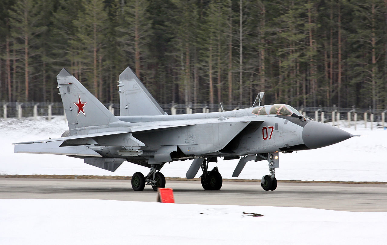 Перехватчик МиГ-31