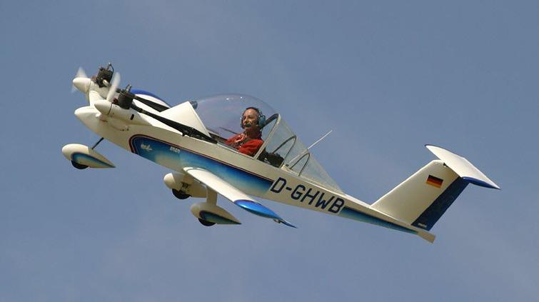 Самолет на электродвигателе