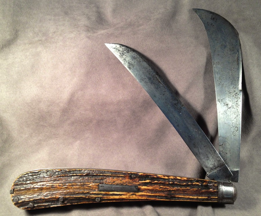 Складной матросский нож