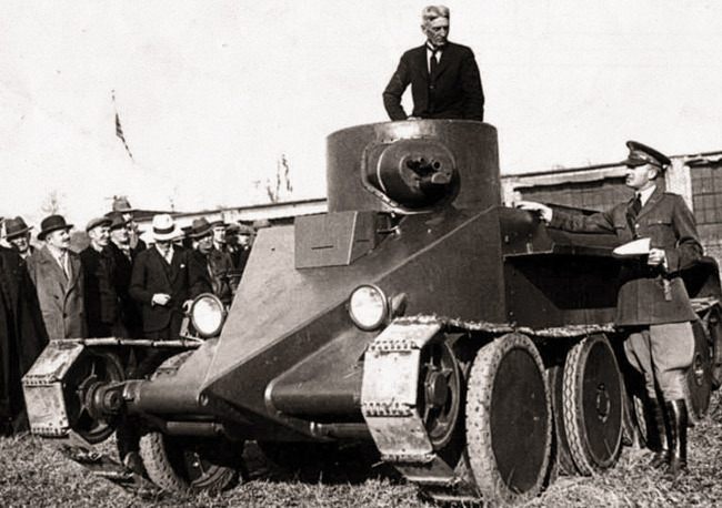 Танк M1931