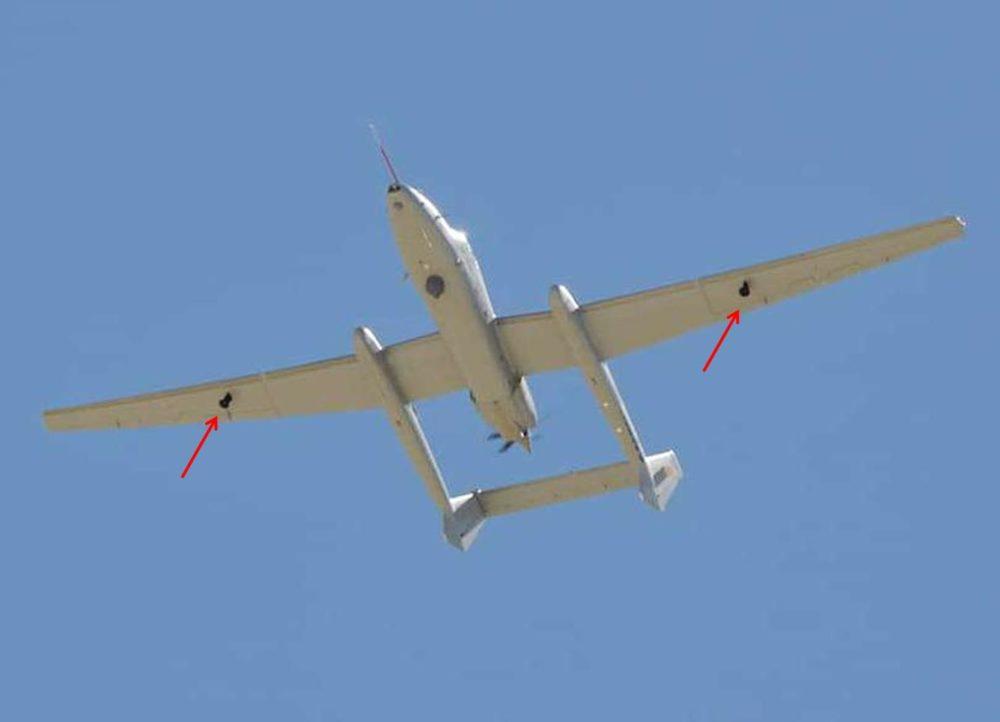 Точки подвески на крыльях «Firebird»