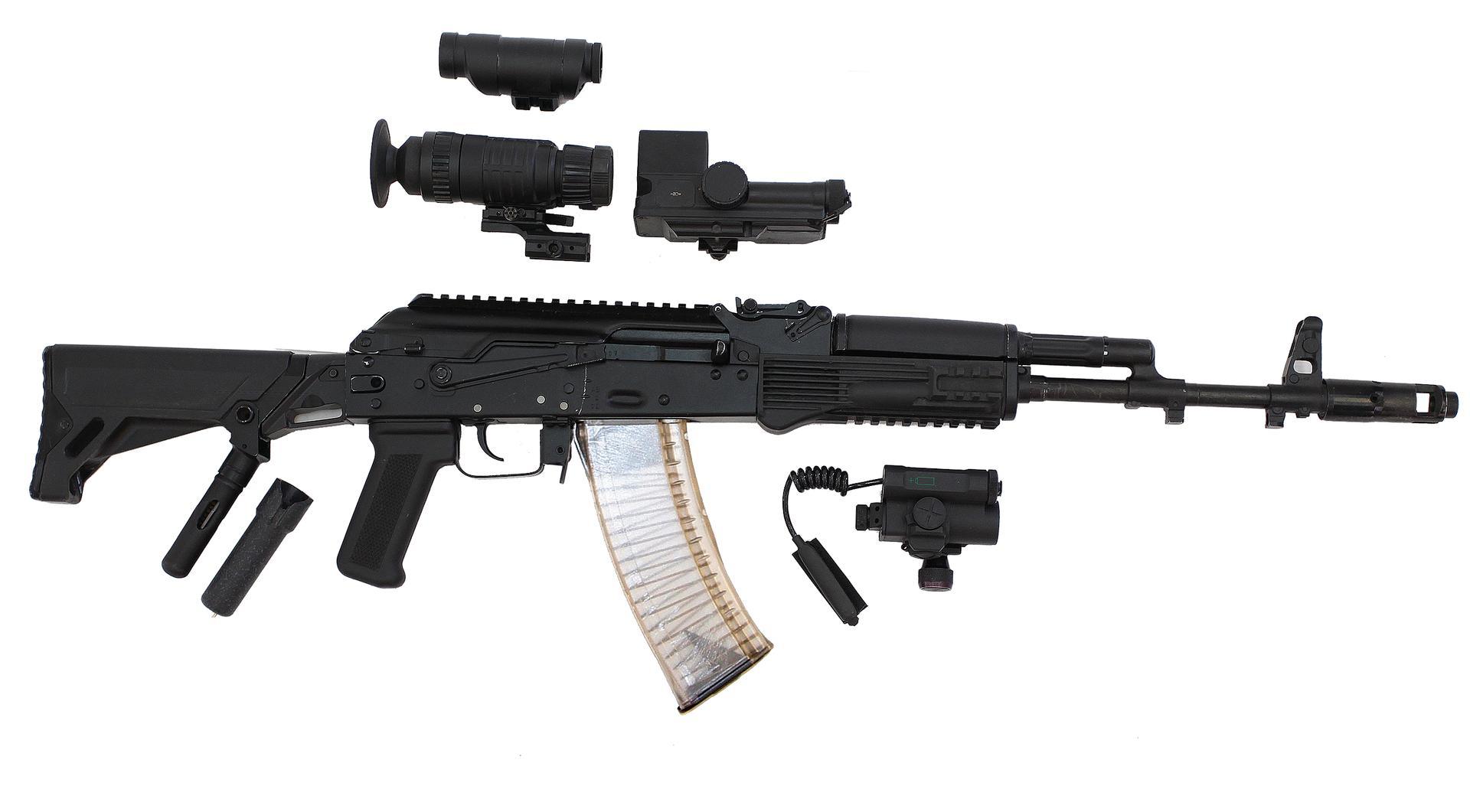АК-103 с обвесами