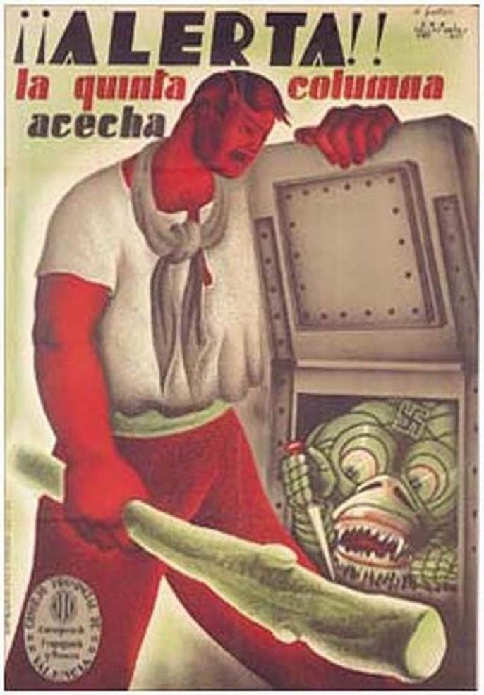 Испанский плакат