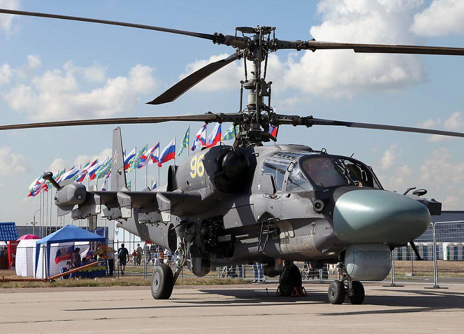Ка-52 на выставке