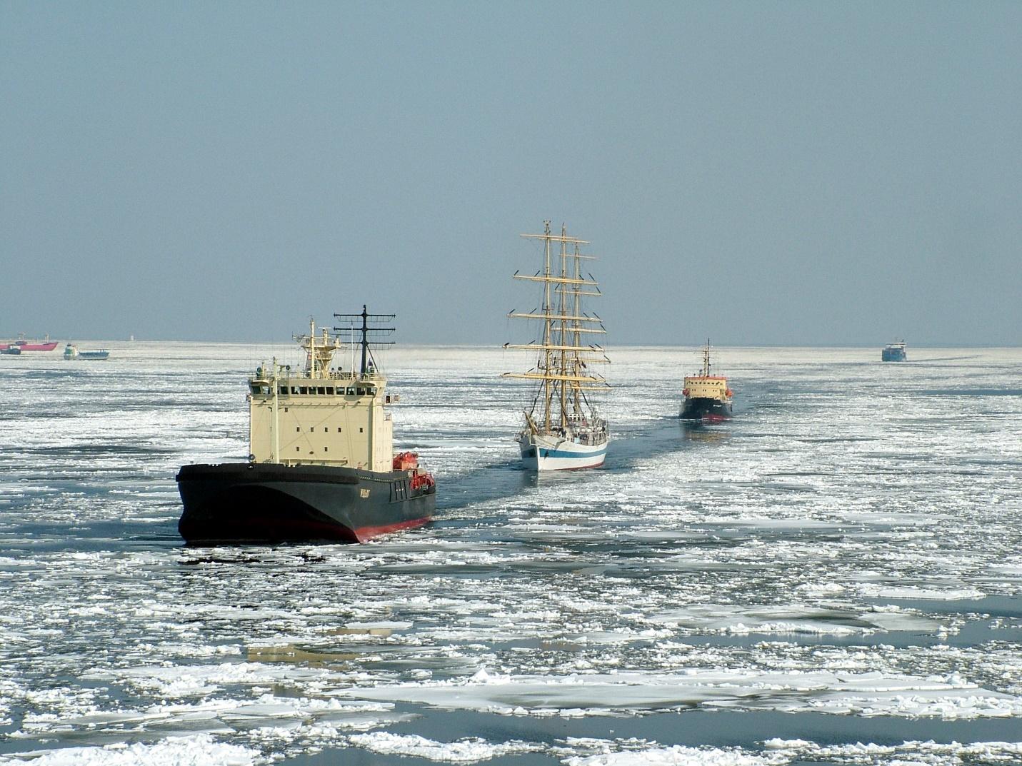 Корабли в Балтии