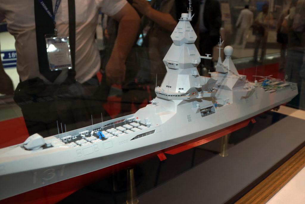 """Модель эсминца """"Лидер"""""""