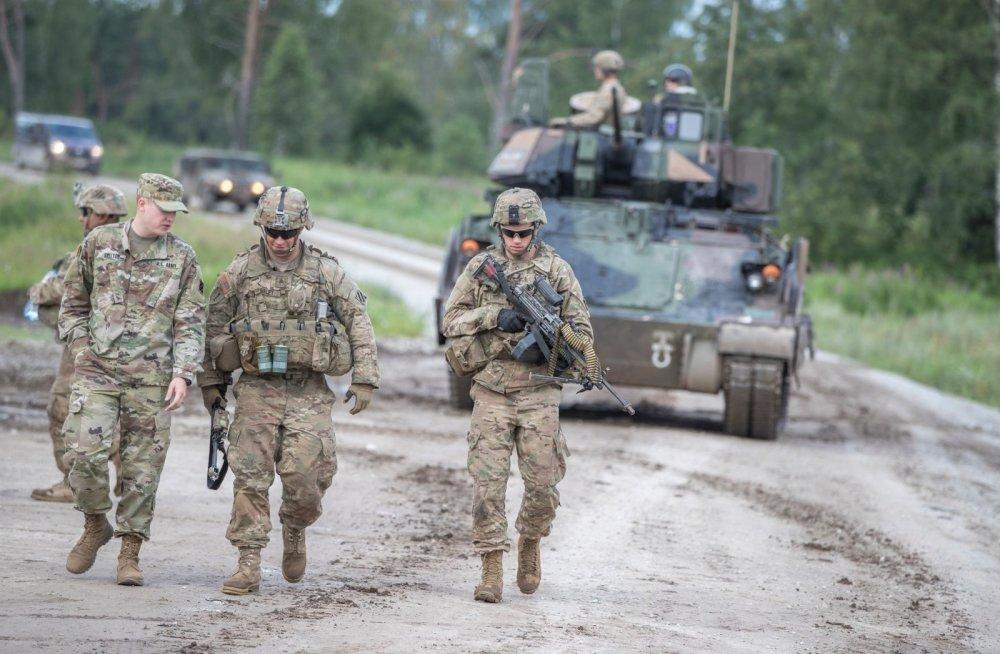 Пехота и техника США