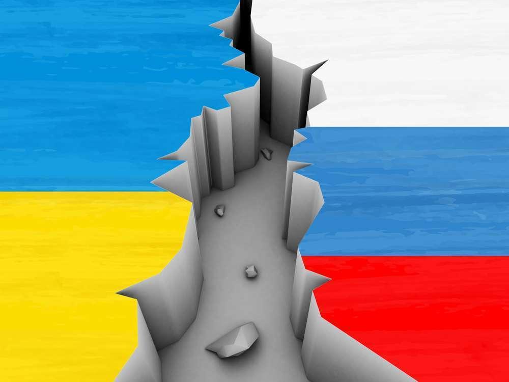 Раскол между Украиной и Россией