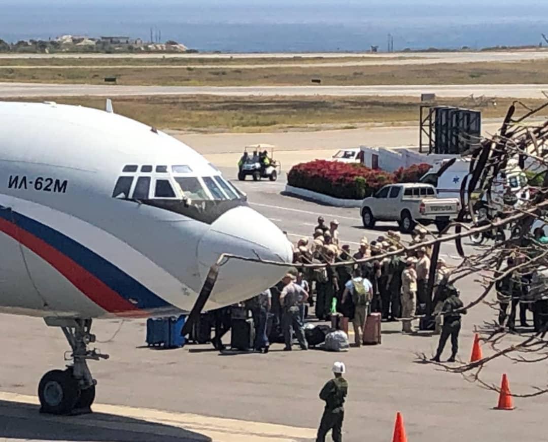 Российский Ил-62М в Каракасе
