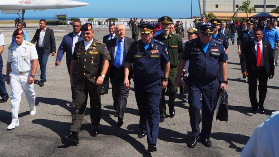 Русские военные в Венесуэле