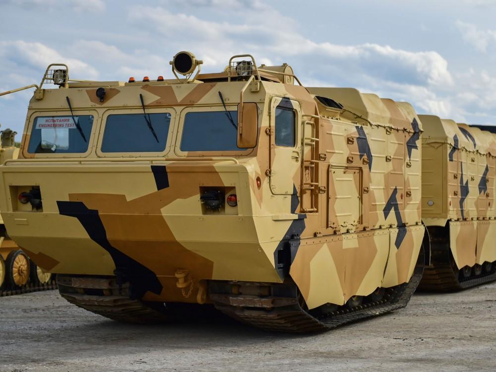 Сочлененный танк
