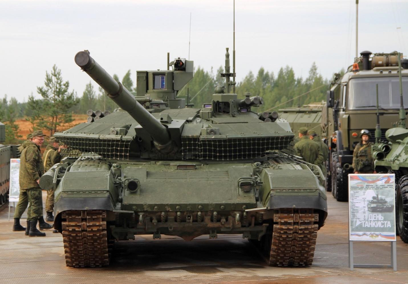 Т-90М на выставке