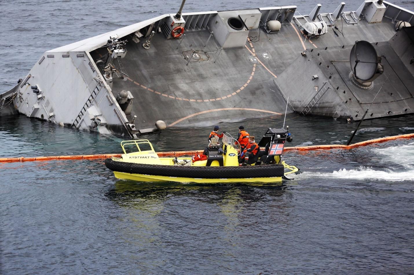 Тонущий фрегат