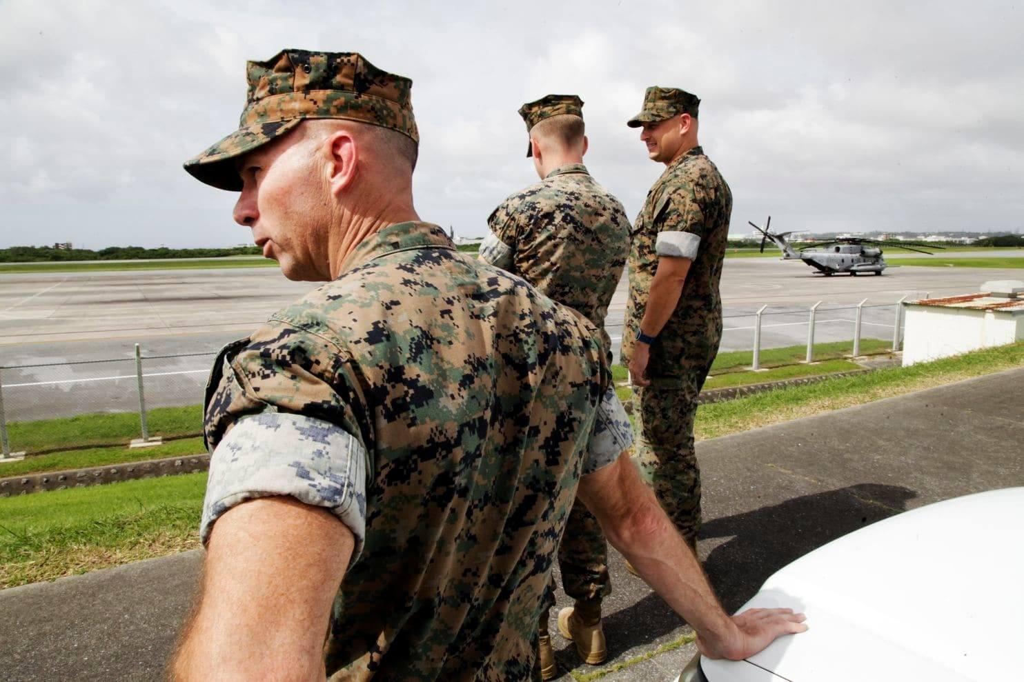 Американцы на военной базе