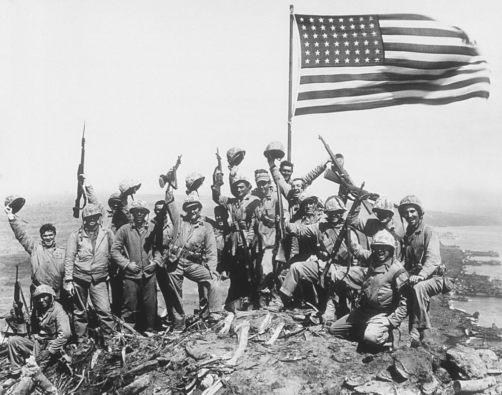 Американцы во Второй мировой