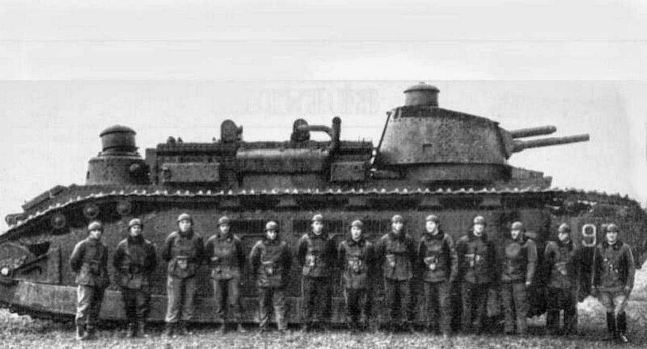 Char 2C сверхтяжелый французский танк