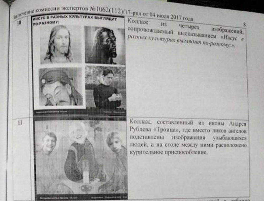 Экстремистские изображения