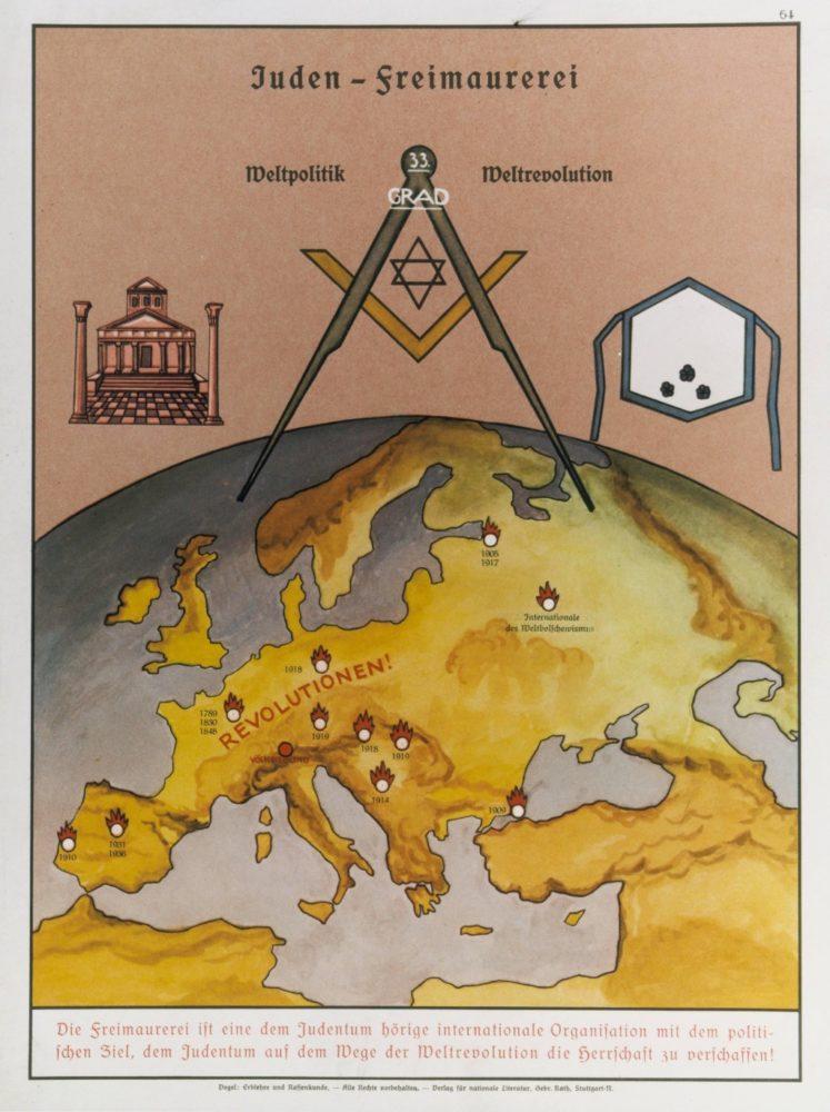 Фашистский пропагандистский плакат