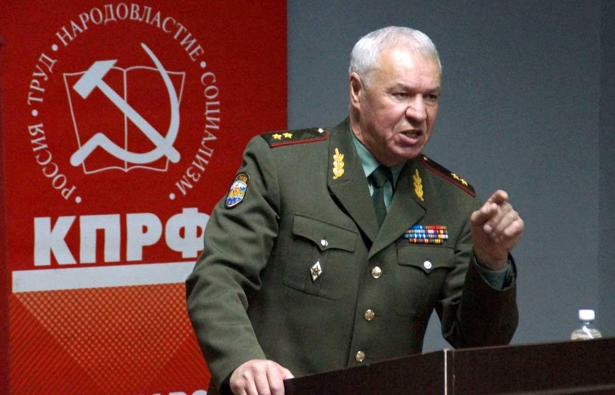 Генерал-лейтенант Виктор Соболев