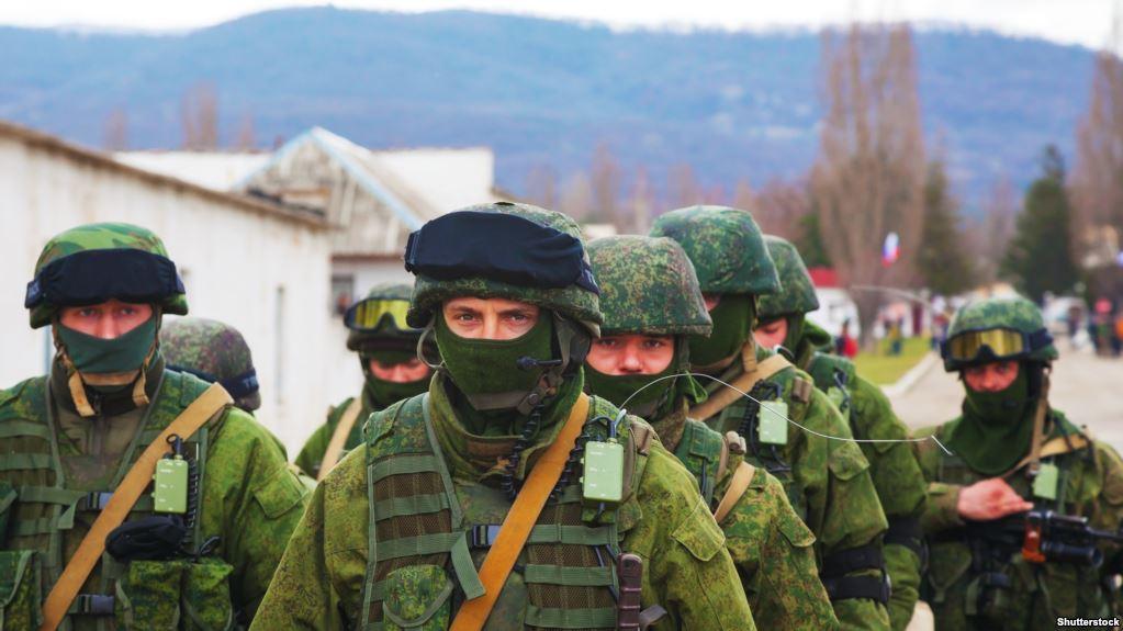 Группа русских солдат