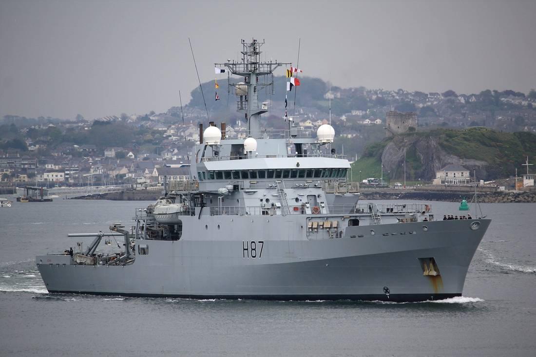 HMS Echo в Черном море